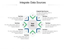 Integrate Data Sources Ppt Powerpoint Presentation Ideas Structure Cpb