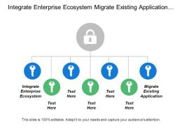 Integrate Enterprise Ecosystem Migrate Existing Application Established Transition Process