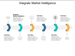 Integrate Market Intelligence Ppt Powerpoint Presentation Styles Gallery Cpb