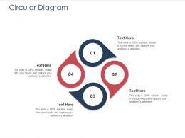 Integrated B2C Marketing Approach Circular Diagram Ppt Show Aids Portfolio Background
