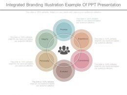 Integrated Branding Illustration Example Of Ppt Presentation