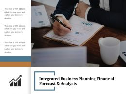 Integrated Business Planning Financial Forecast And Analysis