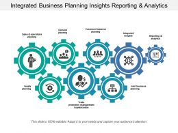 Integrated Business Planning Insights Reporting And Analytics