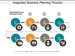 Integrated Business Planning Process Ppt Powerpoint Presentation Infographics Demonstration Cpb
