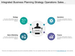 Integrated Business Planning Strategy Operations Sales And Finance