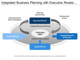 Integrated Business Planning With Executive Review And Financial Review