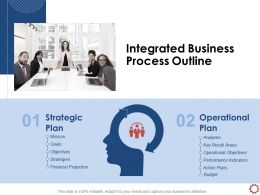 Integrated Business Process Outline Key Result Areas Ppt Powerpoint Presentation Model