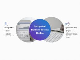 Integrated Business Process Outline Planning Ppt Powerpoint Presentation Slides Download
