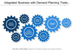 Integrated Business With Demand Planning Trade Promotion Management