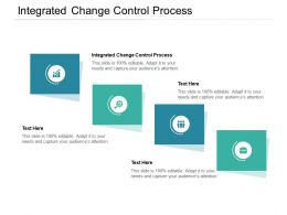 Integrated Change Control Process Ppt Powerpoint Presentation File Cpb