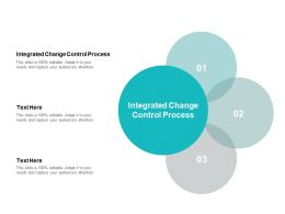 Integrated Change Control Process Ppt Powerpoint Presentation Icon Ideas Cpb