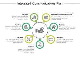 Integrated Communications Plan Ppt Powerpoint Presentation Ideas Templates Cpb