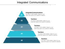 Integrated Communications Ppt Powerpoint Presentation Gallery Deck Cpb