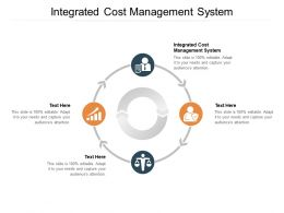 Integrated Cost Management System Ppt Powerpoint Presentation Rules Cpb