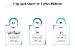 Integrated Customer Service Platform Ppt Powerpoint Presentation Slide Portrait Cpb