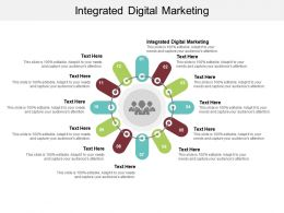 Integrated Digital Marketing Ppt Powerpoint Presentation Ideas Infographic Template Cpb