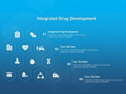 Integrated Drug Development Ppt Powerpoint Presentation Professional Smartart