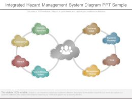 Integrated Hazard Management System Diagram Ppt Sample