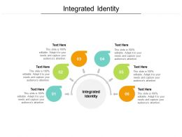 Integrated Identity Ppt Powerpoint Presentation Model Cpb