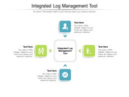 Integrated Log Management Tool Ppt Powerpoint Presentation Gallery Graphics Tutorials Cpb