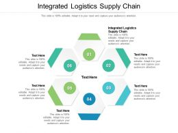 Integrated Logistics Supply Chain Ppt Powerpoint Presentation Icon Graphics Template Cpb