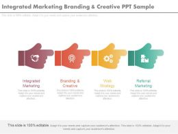 Integrated Marketing Branding And Creative Ppt Sample