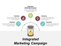 Integrated Marketing Campaign Ppt Powerpoint Presentation File Icons Cpb