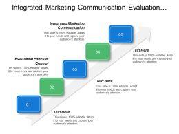Integrated Marketing Communication Evaluation Effective Control Multiple Criteria