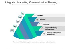 Integrated Marketing Communication Planning Supply Chain Management Attribution Management Cpb