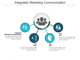 Integrated Marketing Communication Ppt Powerpoint Presentation Infographic Template Images Cpb