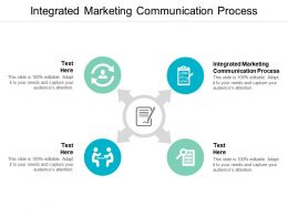Integrated Marketing Communication Process Ppt Powerpoint Presentation Outline Slide Cpb