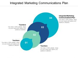 Integrated Marketing Communications Plan Ppt Powerpoint Presentation Portfolio Objects Cpb