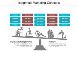 Integrated Marketing Concepts Ppt Powerpoint Presentation Portfolio Layout Cpb