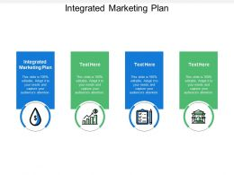 Integrated Marketing Plan Ppt Powerpoint Presentation Icon File Formats Cpb