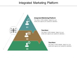 Integrated Marketing Platform Ppt Powerpoint Presentation File Graphics Download Cpb