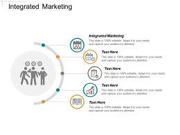 Integrated Marketing Ppt Powerpoint Presentation Inspiration Portrait Cpb