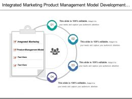 Integrated Marketing Product Management Model Development Operations Activities