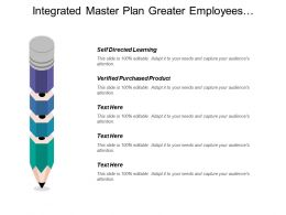 Integrated Master Plan Greater Employees Involvement Decision Point