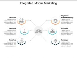 Integrated Mobile Marketing Ppt Powerpoint Presentation Introduction Cpb