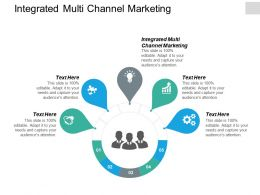 Integrated Multi Channel Marketing Ppt Powerpoint Presentation Guidelines Cpb