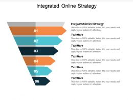 Integrated Online Strategy Ppt Powerpoint Presentation Ideas Smartart Cpb