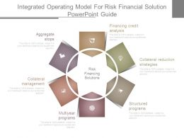 Integrated Operating Model For Risk Financial Solution Powerpoint Guide