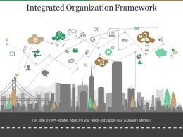 Integrated Organization Framework Presentation Diagrams