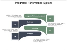 Integrated Performance System Ppt Powerpoint Presentation Icon Slides Cpb