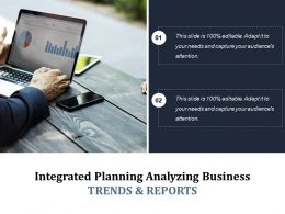 Integrated Planning Analyzing Business Trends And Reports