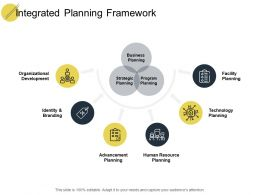 Integrated Planning Framework Development Ppt Powerpoint Presentation Show