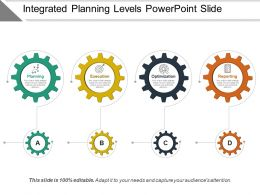 Integrated Planning Levels Powerpoint Slide