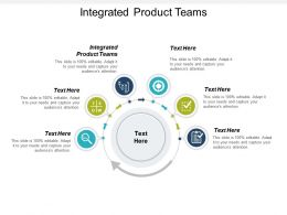 Integrated Product Teams Ppt Powerpoint Presentation Icon Inspiration Cpb