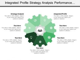 Integrated Profile Strategy Analysis Performance Indicators Excluded Additional