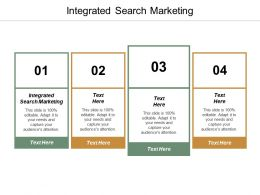 Integrated Search Marketing Ppt Powerpoint Presentation File Objects Cpb